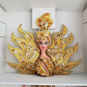 NIB Goddess of the Sun Barbie by Bob Mackie